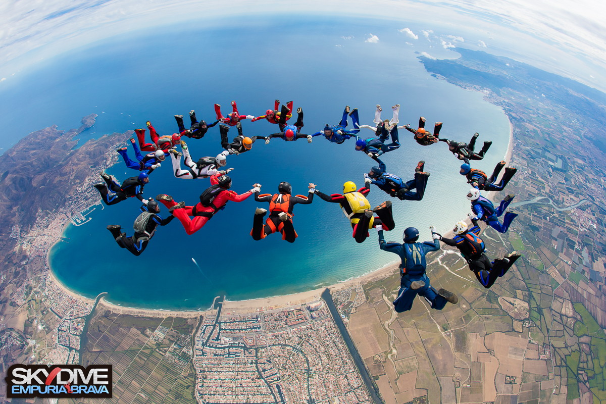 Big Way FS Sequential Camp with Patrick Passe - SkyDive The Land of