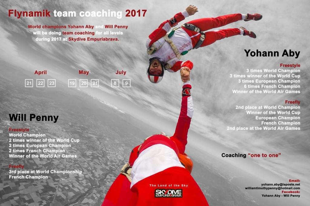 Advert of Flynamik team coaching